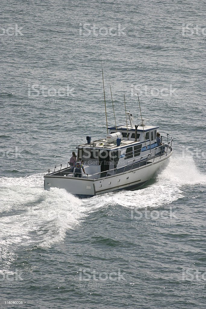 Charter Boat royalty-free stock photo