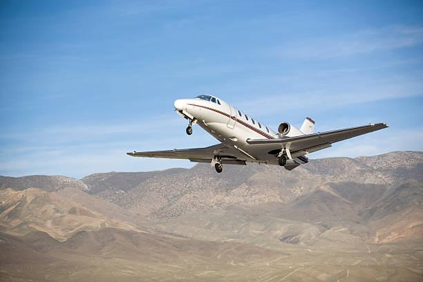 Charter Jet-16 stock photo