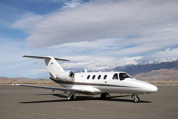 Charter Jet-20 stock photo