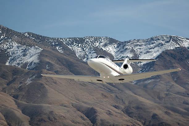 Charter Jet-22 stock photo