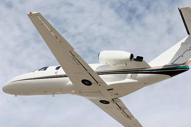 Charter Jet-23 stock photo