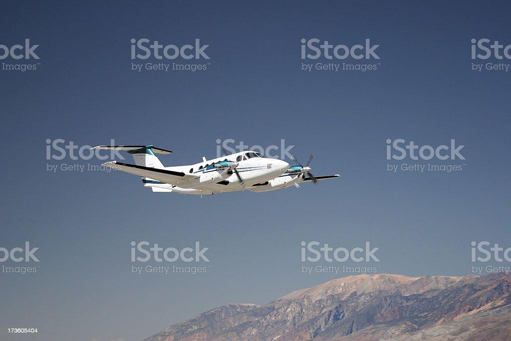 Charter Jet-6 royalty-free stock photo