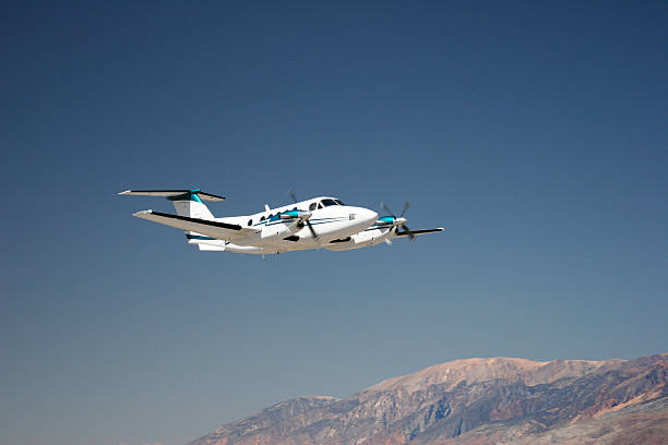Charter Jet-6 stock photo