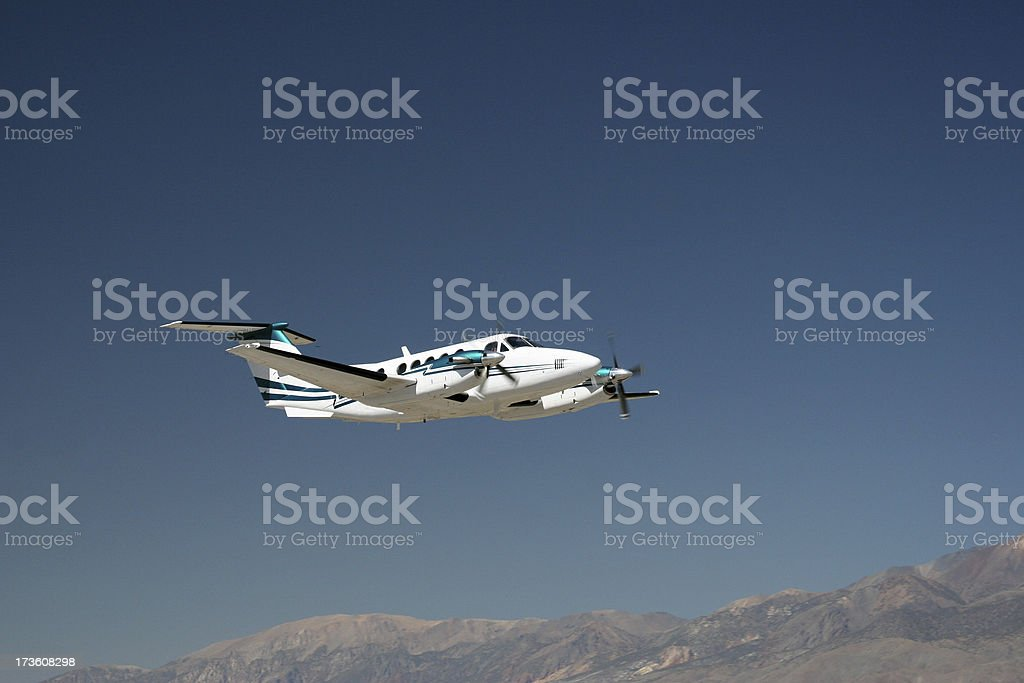 Charter Jet-7 stock photo