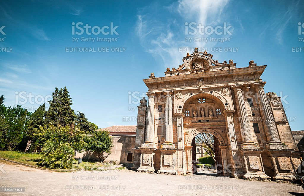 Charterhouse of Jerez de la Frontera stock photo