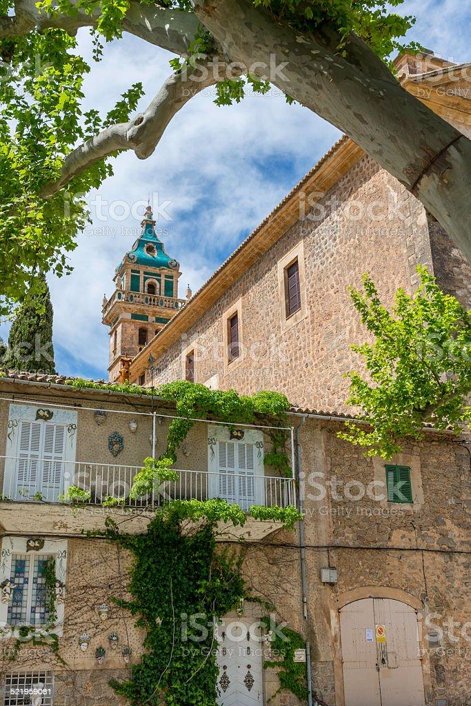 Charterhouse Valldemossa, Majorca, Spain stock photo