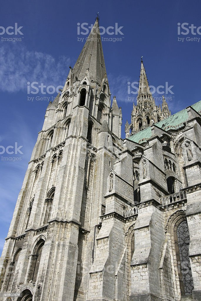 Chartres royalty-free stock photo