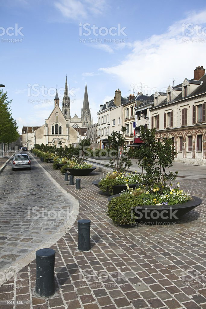 Chartres, France stock photo
