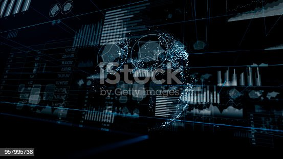 istock GUI charts concept. Internet of Things. 957995736