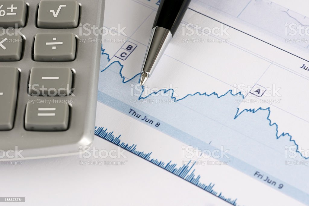 charts royalty-free stock photo