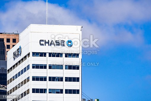 istock Chase bank offices in downtown San Diego 1139508072