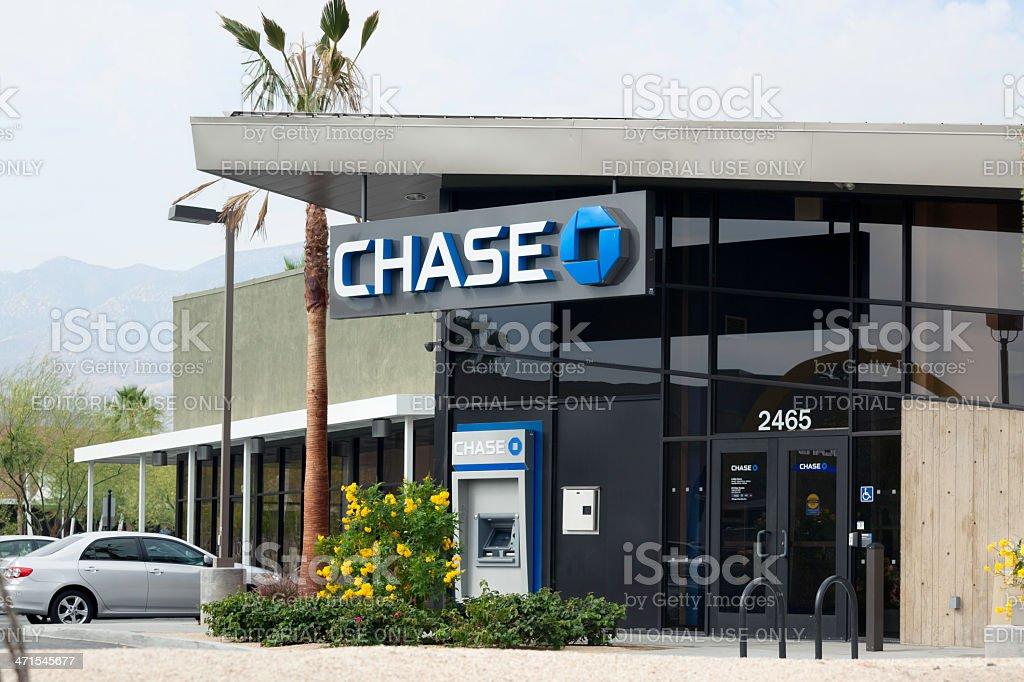 Chase Bank royalty-free stock photo