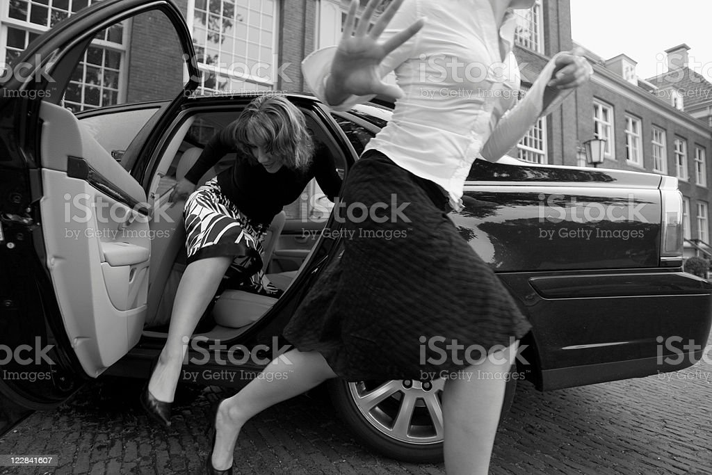 chased celebs royalty-free stock photo