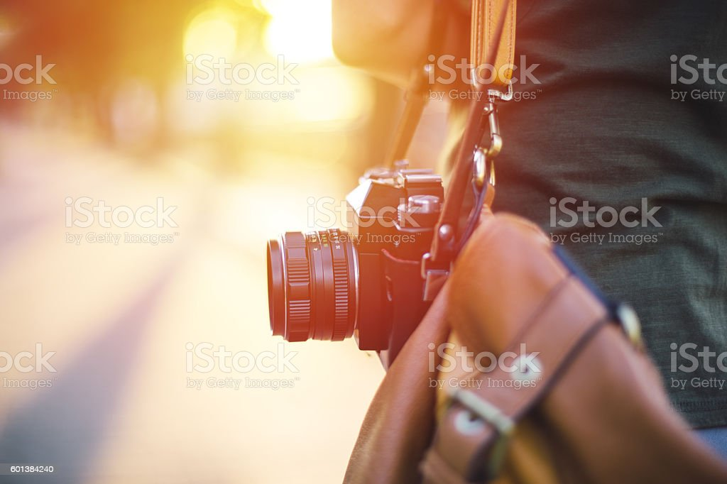 Chasing the moment royalty-free stock photo