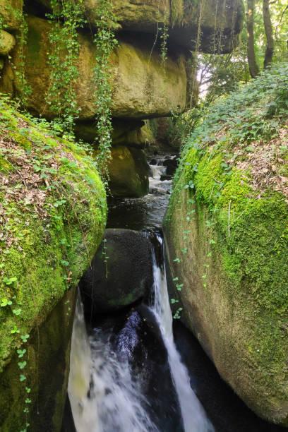 Chasm of Huelgoat stock photo