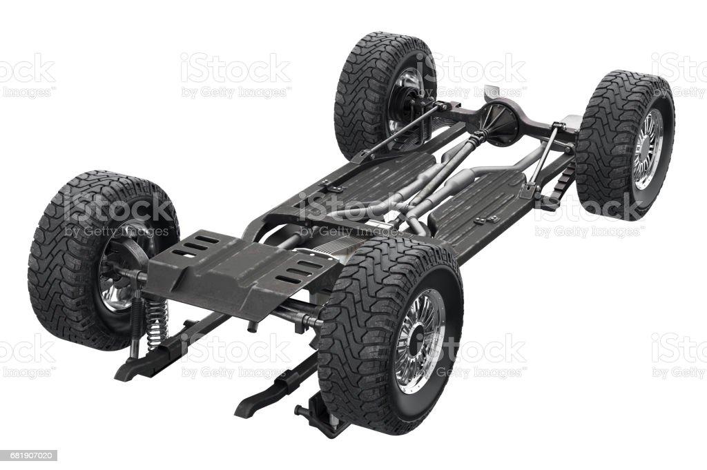 Chassis Rahmen Auto Fahrwerk Stock-Fotografie und mehr Bilder von ...