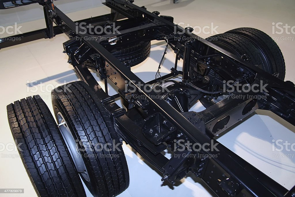 Chassis stock photo