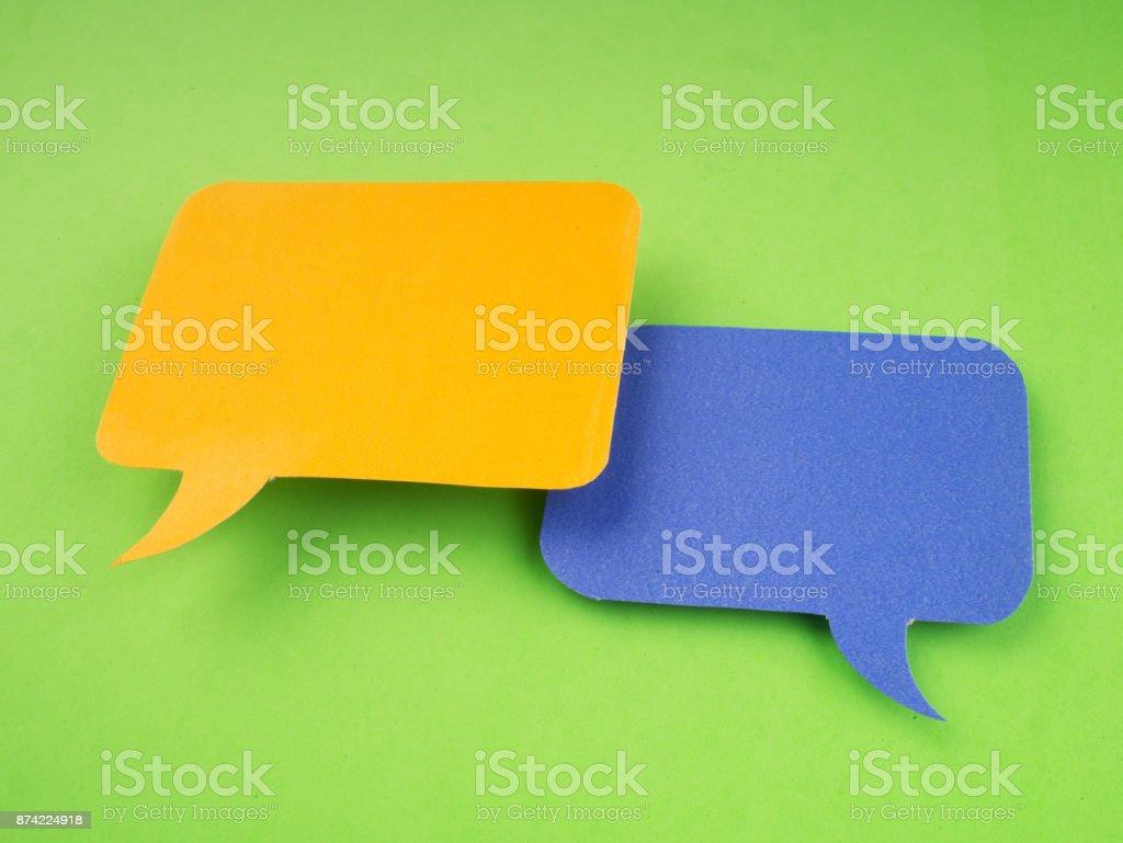 Social Media Chat Bubbles.