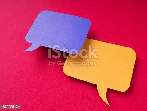 istock Chat Bubbles 874228134