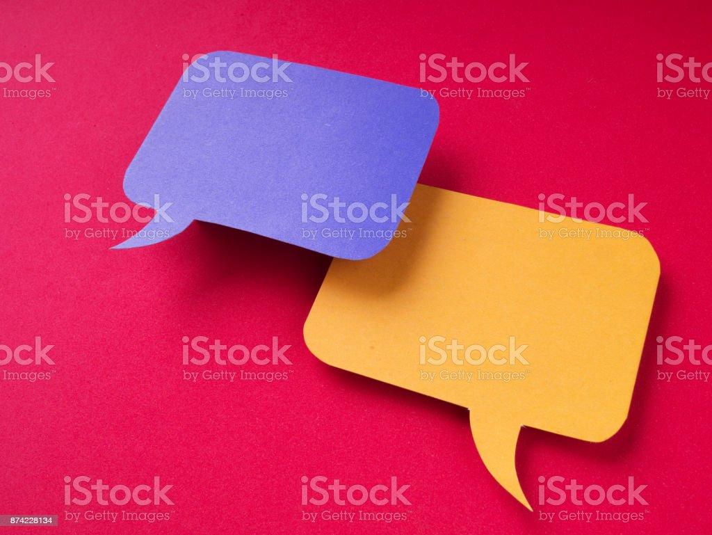 Chat Bubbles stock photo
