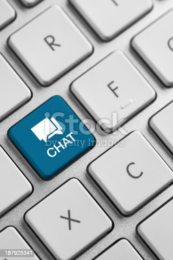 istock Chat button 187925341