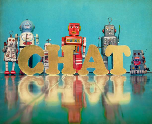 chat-roboter - converse taylor stock-fotos und bilder