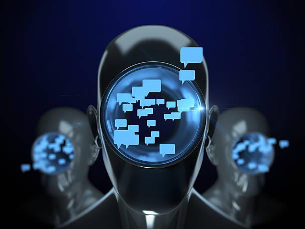 chatbot artificial intelligence - chatbot photos et images de collection