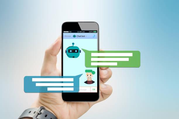 chatbot concept - chatbot photos et images de collection