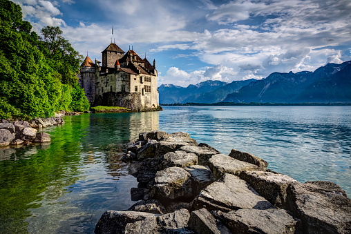 Chateau Chillon, Montreux, Switzerland
