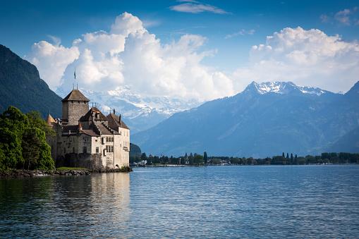 Chateau Chillon, Montreux, Switzerland