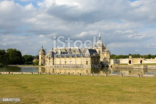 istock Chateau de Chantilly, France 538457124