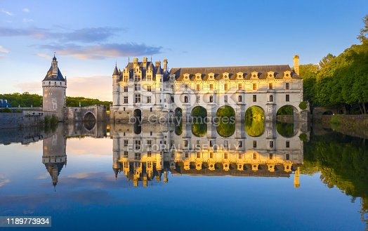 istock Chateau de Chenonceau is a french castle spanning the River Cher near Chenonceaux village, Loire valley in France 1189773934