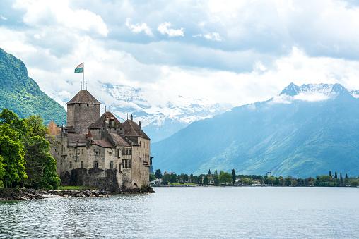 Chateau de Chillon, Veytaux-Montreux, Switzerland