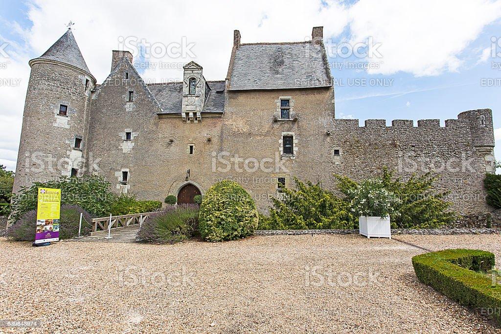 Chateau de Fontenay stock photo