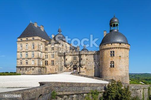 istock Chateau de Hautefort, France 1302225940