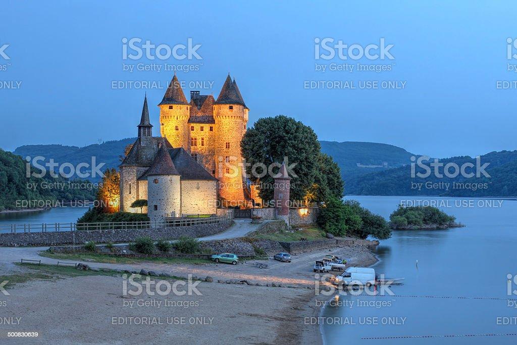 Chateau de Val, France stock photo