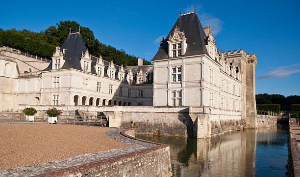 Chateau de Villandry stock photo