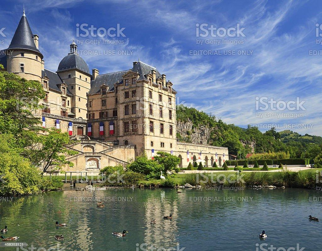 Chateau de Vizille, France stock photo