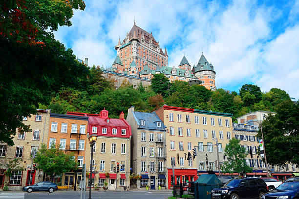 Chateau Frontenac in den Tag – Foto