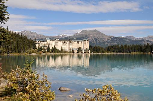 Chateau Lake Louiselake Louisebanff National Parkalbertacanada Stock Photo - Download Image Now