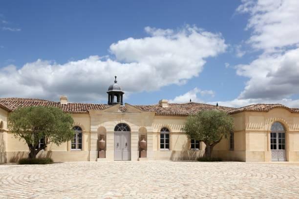 chateau petrus pomerol, frankreich - bordeaux wein stock-fotos und bilder