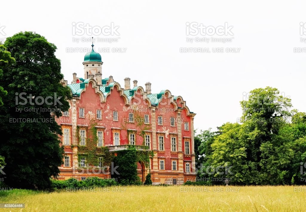 Chateau Prugg in Bruck an der Leitha stock photo