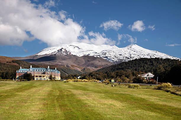 Schloss Tongariro im National Park – Foto