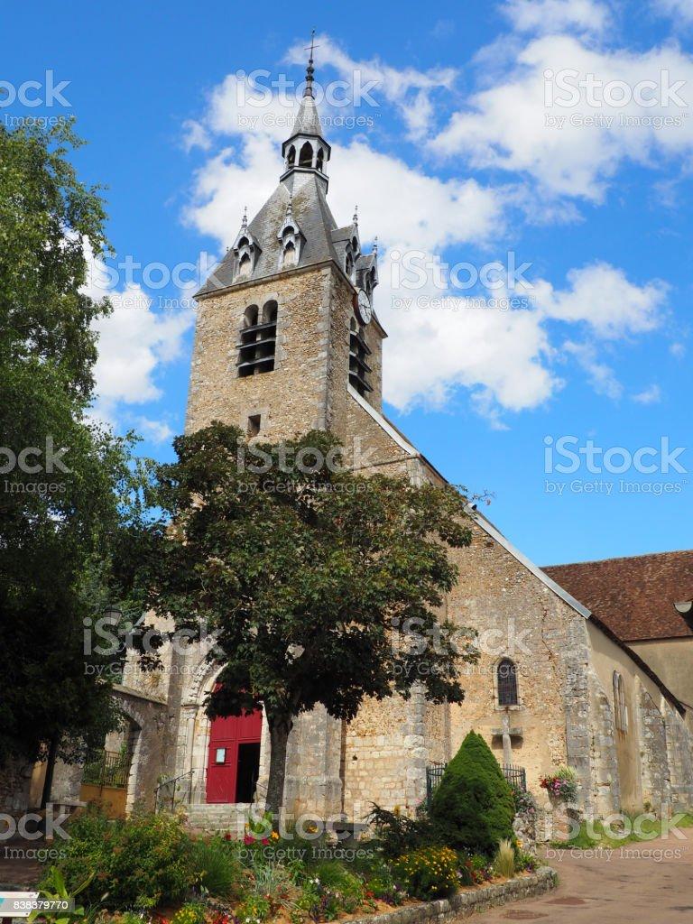 Chateau-renard stock photo