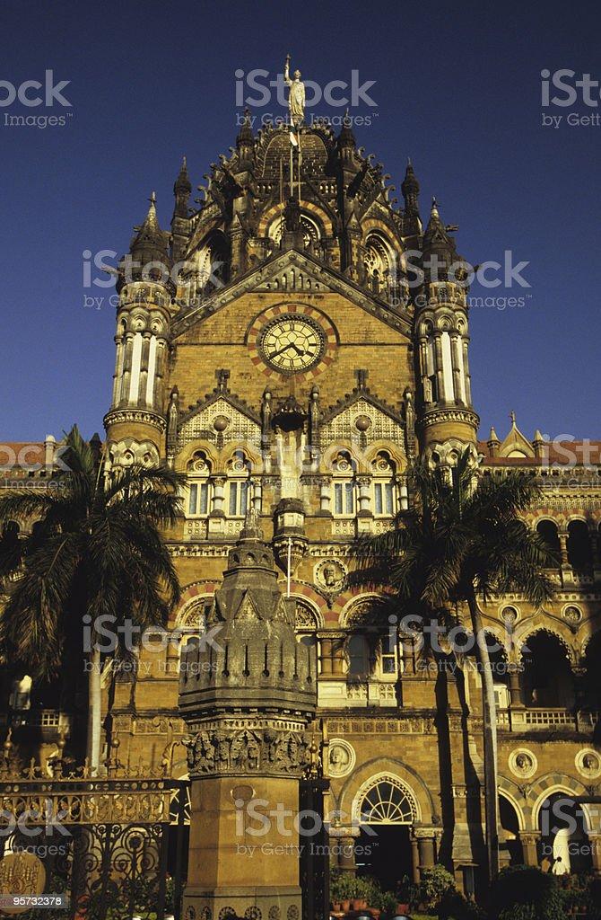 Chatrapati Shivaji Terminus, Mumbai, India royalty-free stock photo