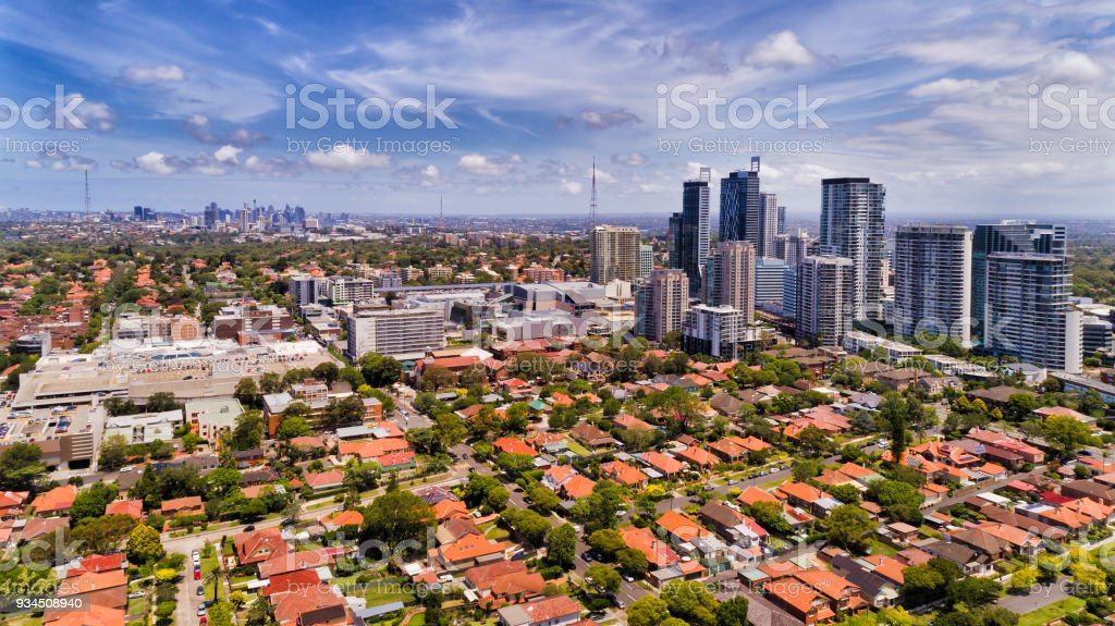 D Chatswood 2 city High stock photo