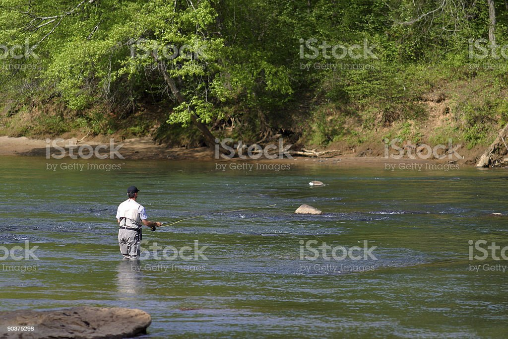 Chattahoochee Fishing stock photo