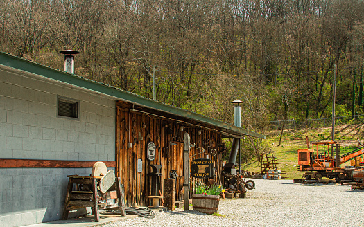 Driving through the backroads in Decatur TN, just outside of Chattanooga in March 2020. Springtime in the mountains is always a pleasure when we came upon this old building lined with antiques and wonderful memorabilia.