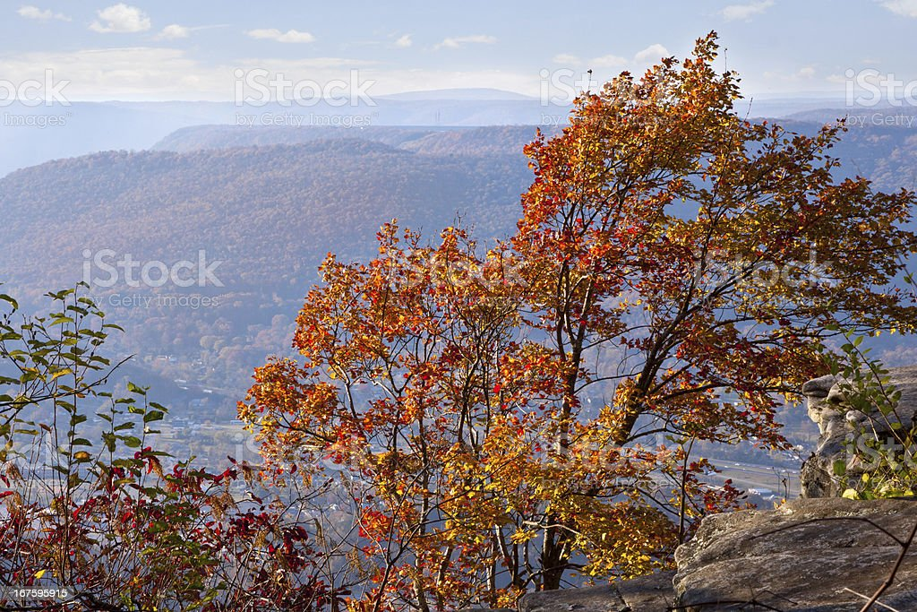 Chattanooga in Autumn royalty-free stock photo