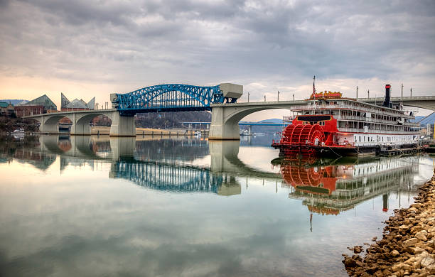 Chattanooga Chattanooga is the fourth-largest city in Tennessee and the seat of Hamilton County. Located in southeastern Tennessee  tennessee river stock pictures, royalty-free photos & images